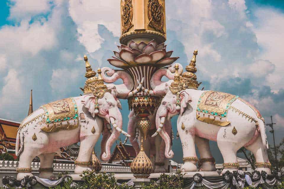 signification éléphant thaïlande