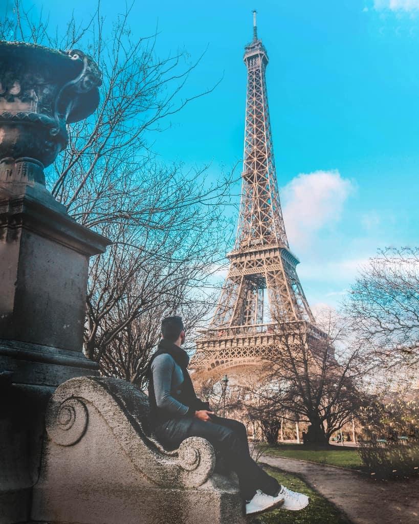 Torre Eiffel, Paris, França.