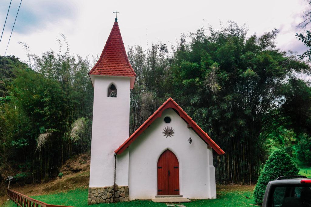 Top civière église à New Freiburg