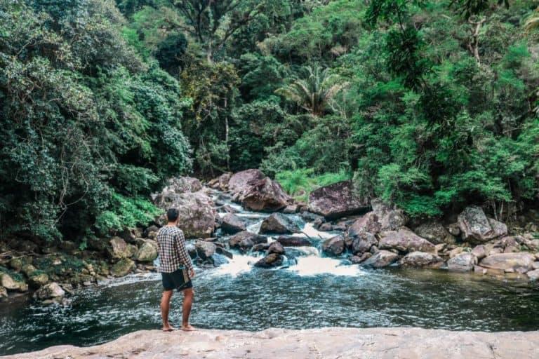 encontro dos rios em Lumiar, Nova Friburgo RJ