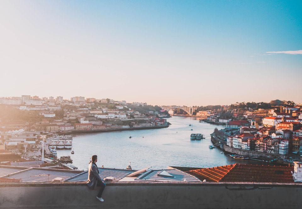 La beauté du monde et l'observation du réel permettent la révélation de soi-même / Porto, janvier 2018