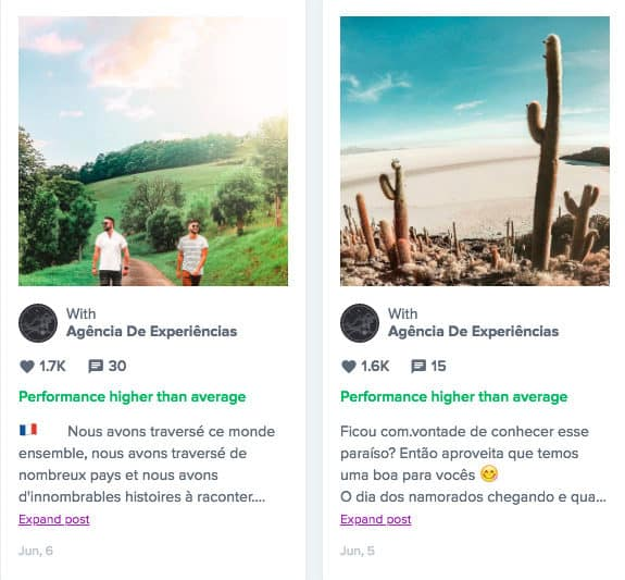 instagram blogueur influenceur voyage