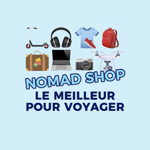 Nomad Shop | La boutique en ligne du voyageur et du nomade digital