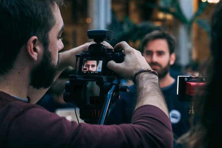cámaras para gravar videos en YouTube