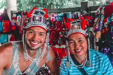 Um nomade digital na Tailandia