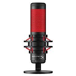 Microfone de mesa para gravar video para youtube