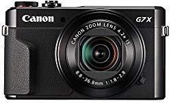 Camera canon G7x para gravar video