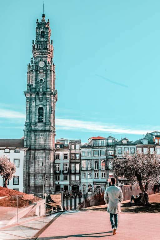 Tour des Clérigos Porto Portugal