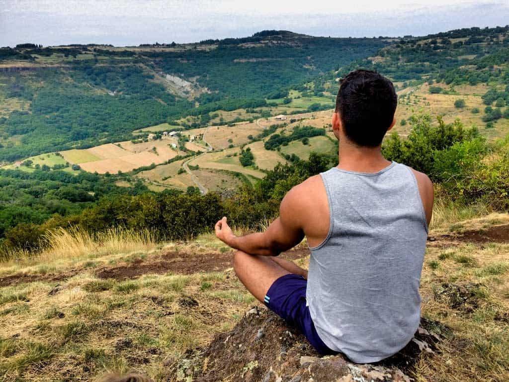 meditação guiada na natureza