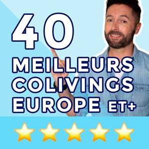 Coliving: Se loger dans un des 40 meilleurs colivings
