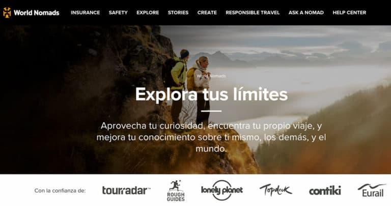 seguro de viaje world nomads