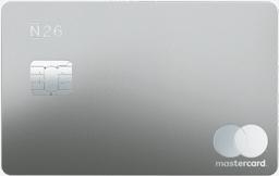 tarjeta para viajar n26 metal