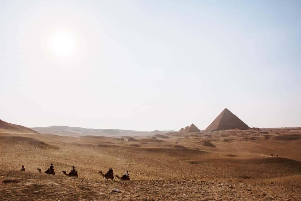 partir en égypte